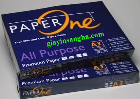 Giấy Paper One 80g A3