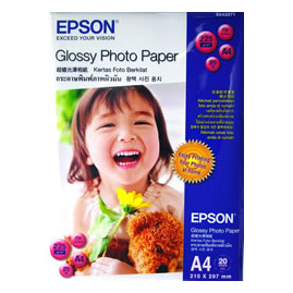 i EPSON Glossy Photo Paper A4